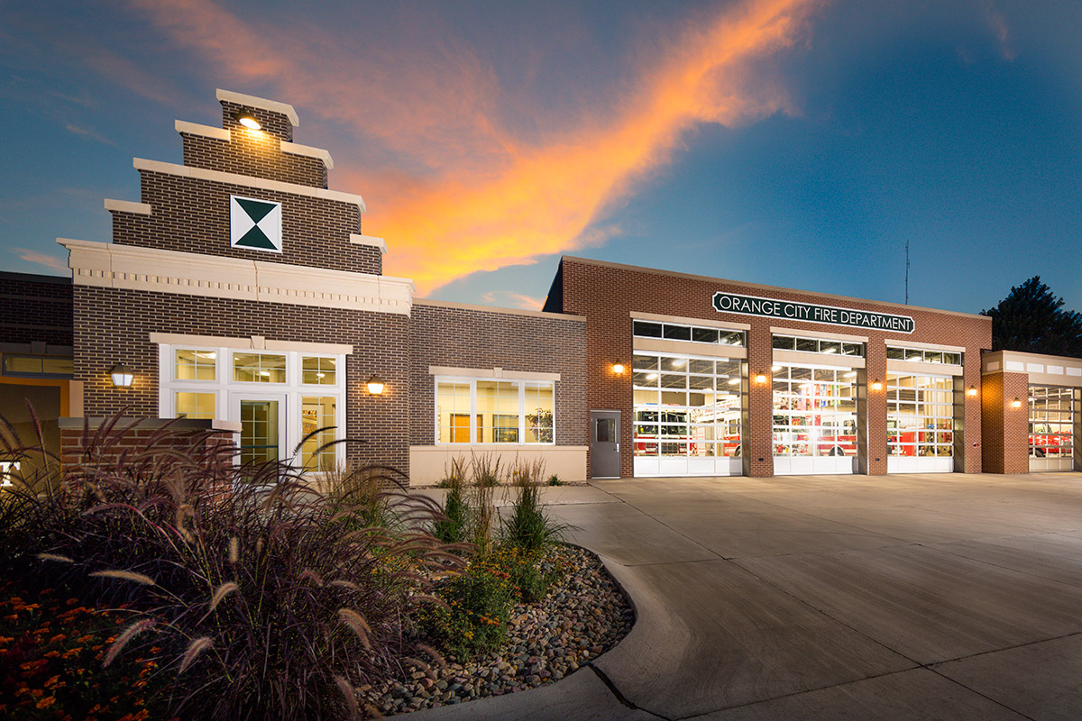 Orange City Fire Station | Fire Station | Community/Event Centers | Engineering Design Associates, Inc. | EDA