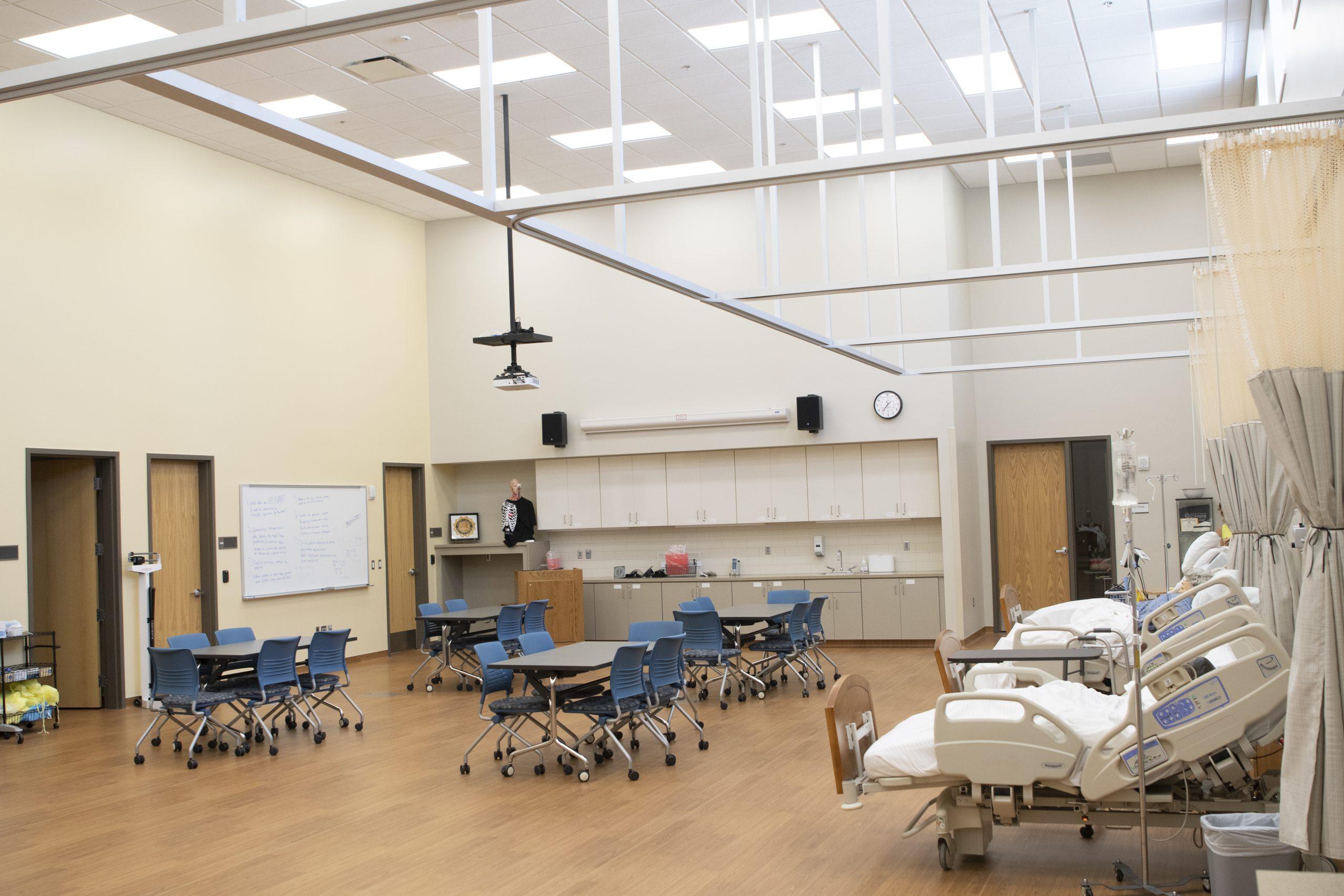 Dordt University Nursing Renovation & Addition and Big Box Theater   Mechanical Engineering Design Services   Engineering Design Associates