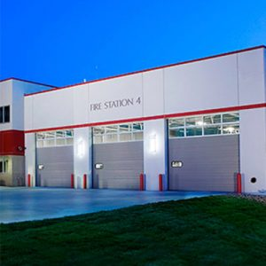 Sioux City Fire Station | Our Projects | Northwest Iowa Mechanical Engineer | Engineering Design Associates, Inc. | EDA