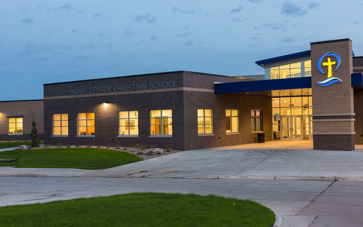 Sioux Center Christian School Addition | Our Education Projects | Northwest Iowa Mechanical Engineer | Engineering Design Associates, Inc. | EDA