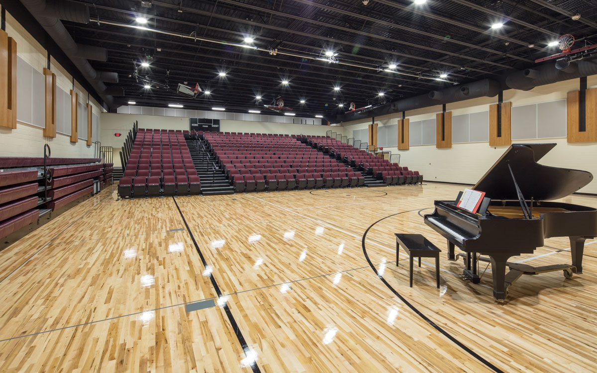 Webster City High School Gym | Our Projects K-12 Education | Engineering Design Associates Inc. | EDA