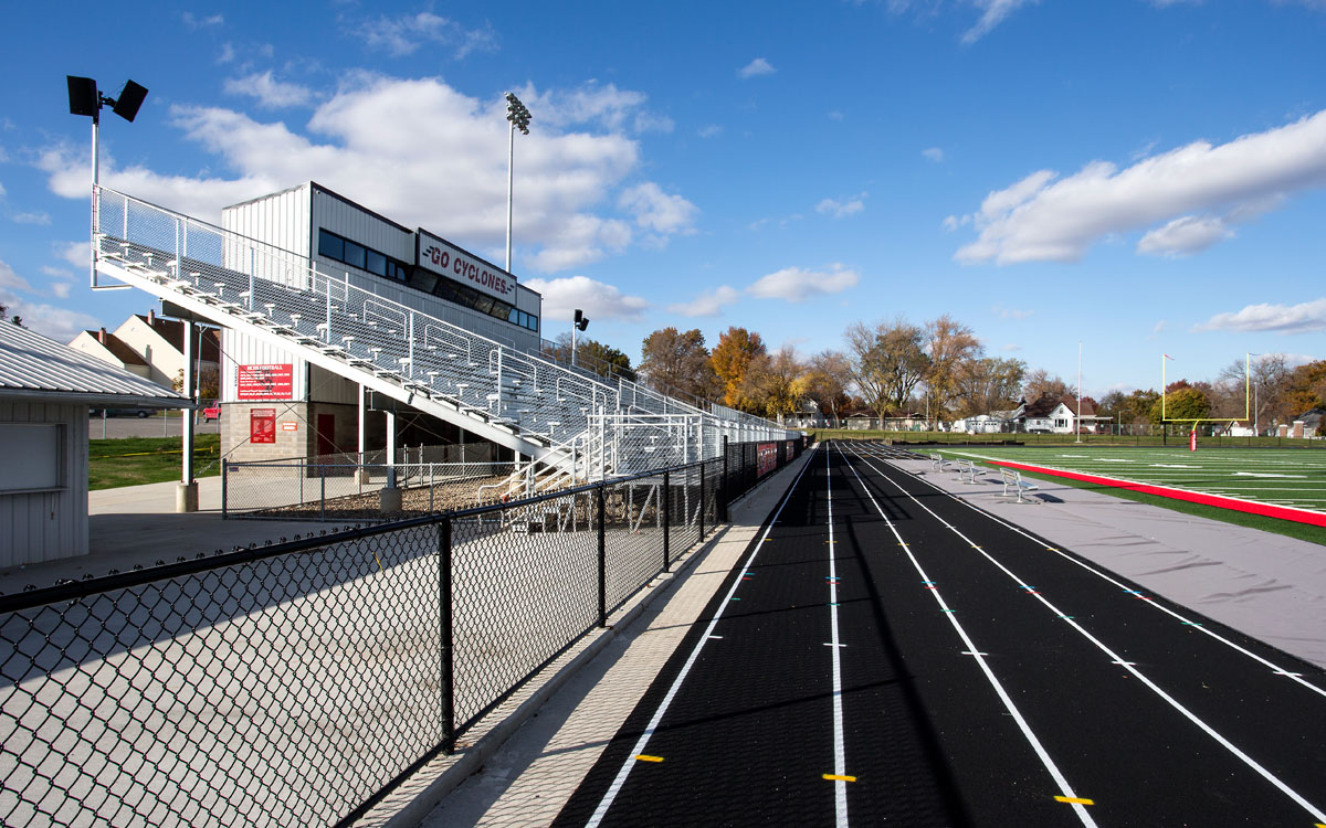 Harlan High School, Iowa | Mechanical and Electrical Consulting Engineers near me