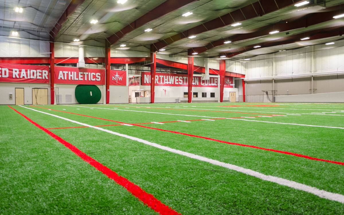 Northwestern College Juffer Athletic Facility | Higher Education Business to Business Engineer Consultant | Engineering Design Associates