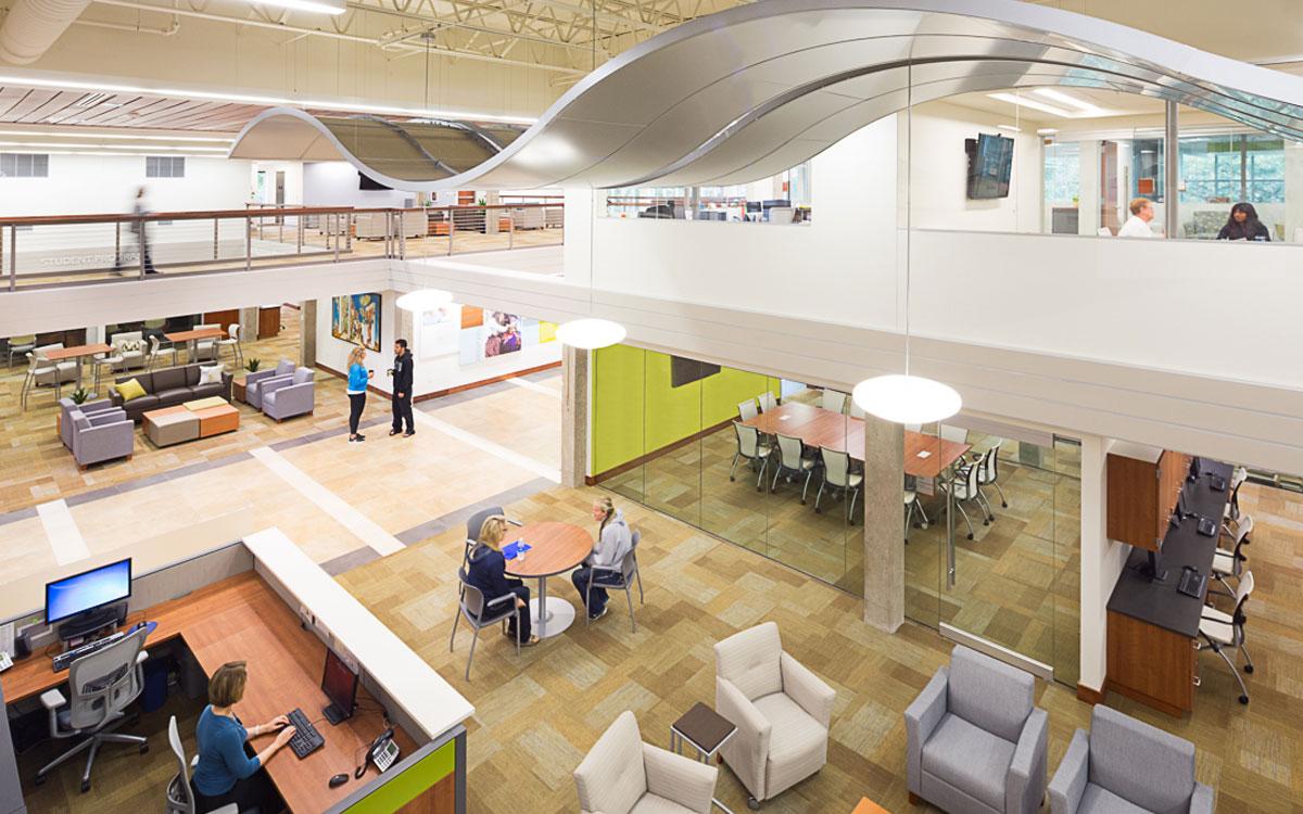 Northwestern College Ramaker Hall   Our Higher Education Project   Northwest Iowa Engineering Design Associates