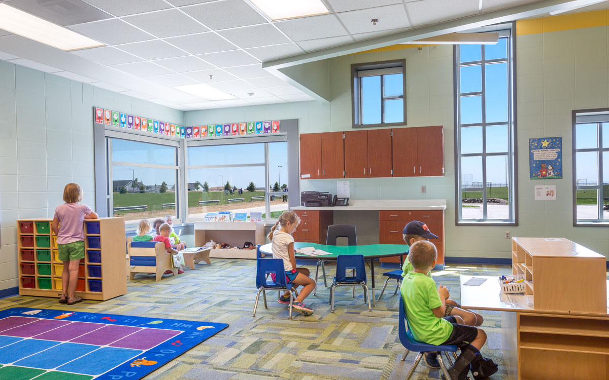 Sioux Center Early Childhood Center | Engineers Near Northwest Iowa | Engineering Design Associates