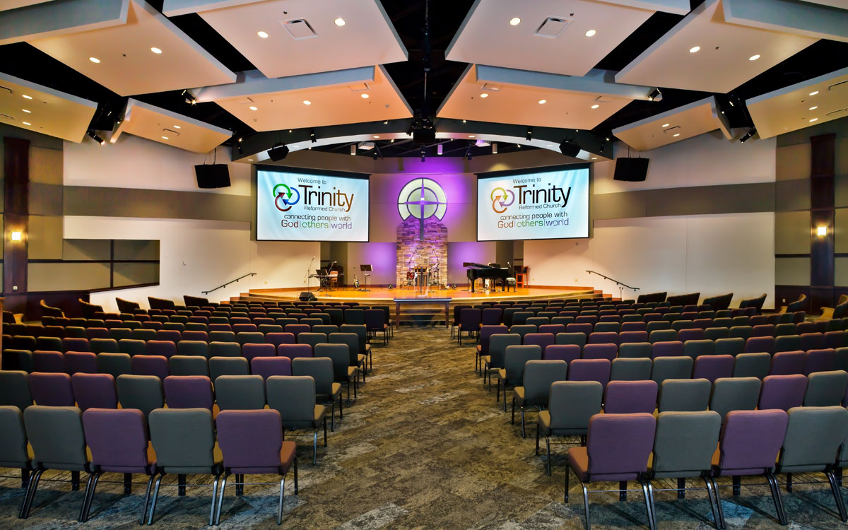 Trinity Reformed Church | Religious Building Consultant | Engineering Design Associates