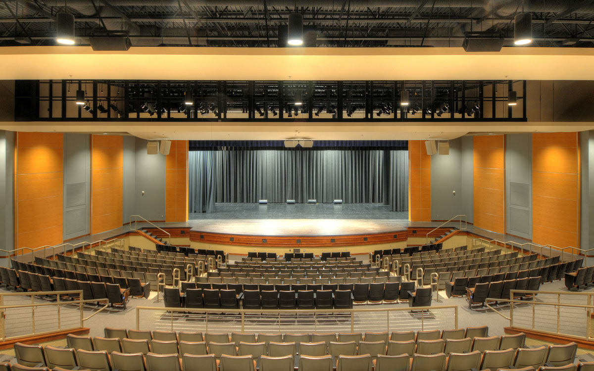 Unity Christian High School - Auditorium Addition | Engineers Near Northwest Iowa | Engineering Design Associates