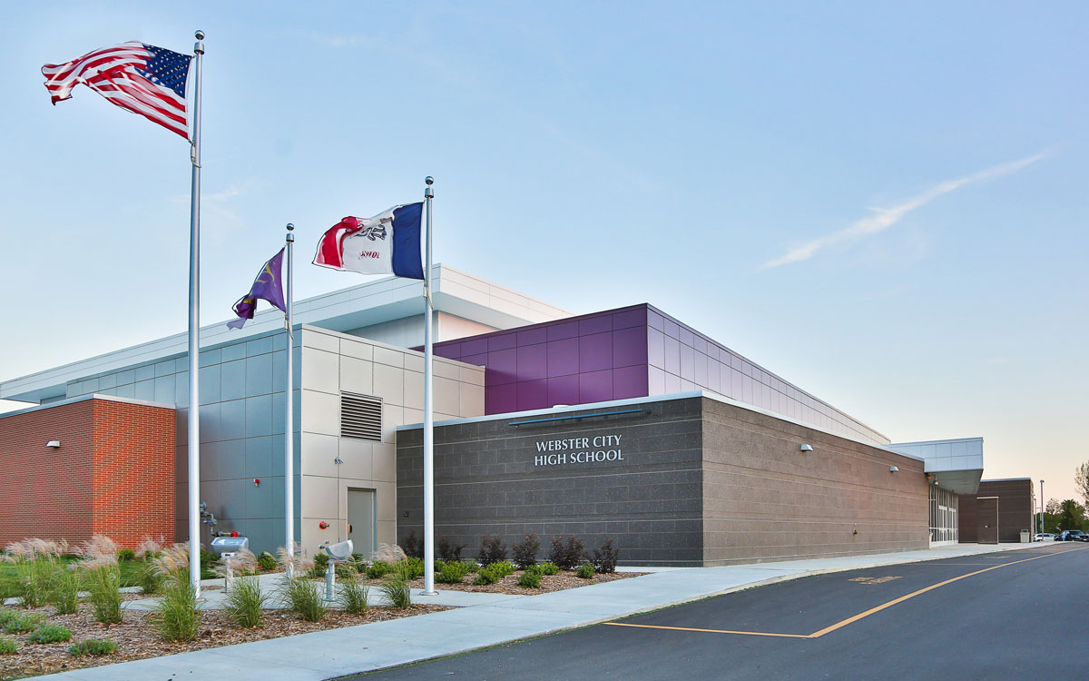 Webster City High School Gym | Education Engineers in Iowa | Engineering Design Associates